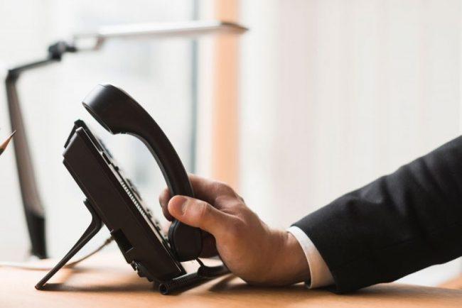 sistem komunikasi telepon