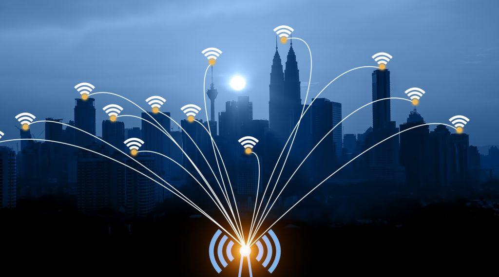 jaringan internet broadband perkotaan