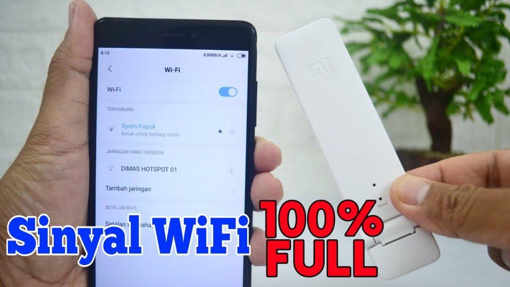 perkuat sinyal wifi